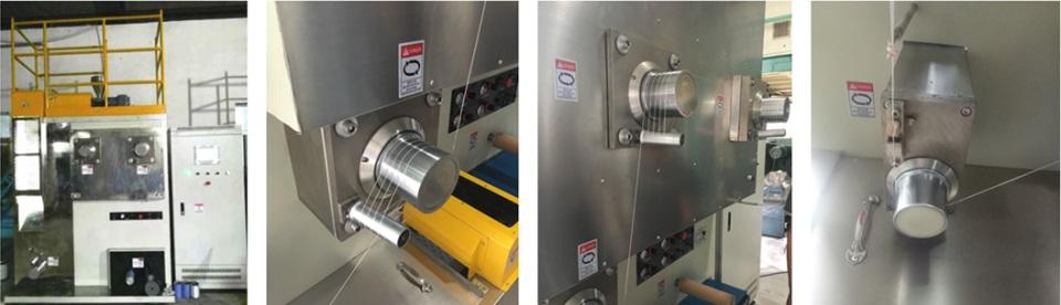 FDY yarn color test lab spinning machine