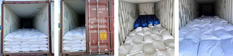 Сердечно празднуем доставку охлаждающей маточной смеси и прядильного масла из контейнера в Индонезию!