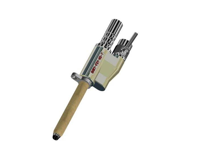 Вакуумный пистолет для прядильной машины полипропиленового мультифиламента FDY